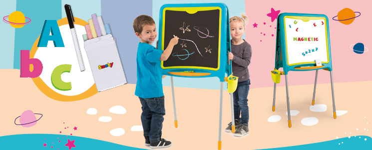 smoby en arts & crafts easels